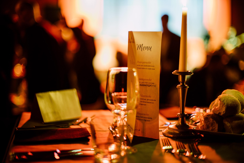 STUDIO33 - Dinnershow menu